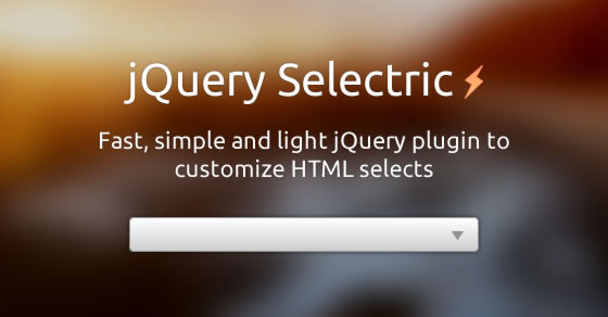 jQuery Selectric